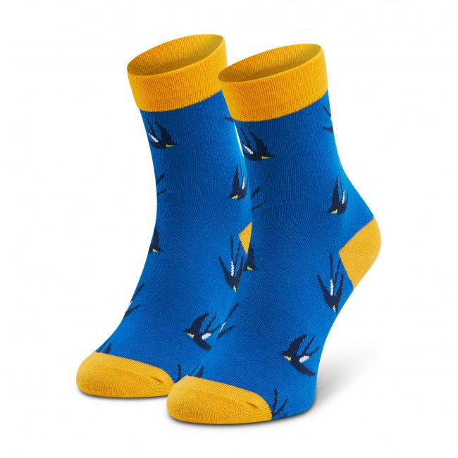 Ponožky Vysoké Unisex DOTS SOCKS - DTS-SX-448-N Modrá