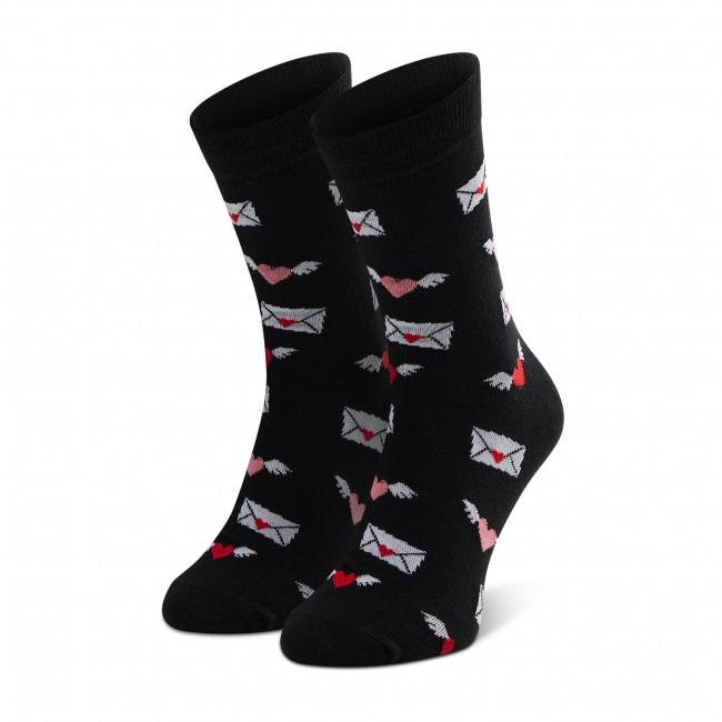 Ponožky Vysoké Unisex DOTS SOCKS - DTS-SX-489-D-3942 Čierna