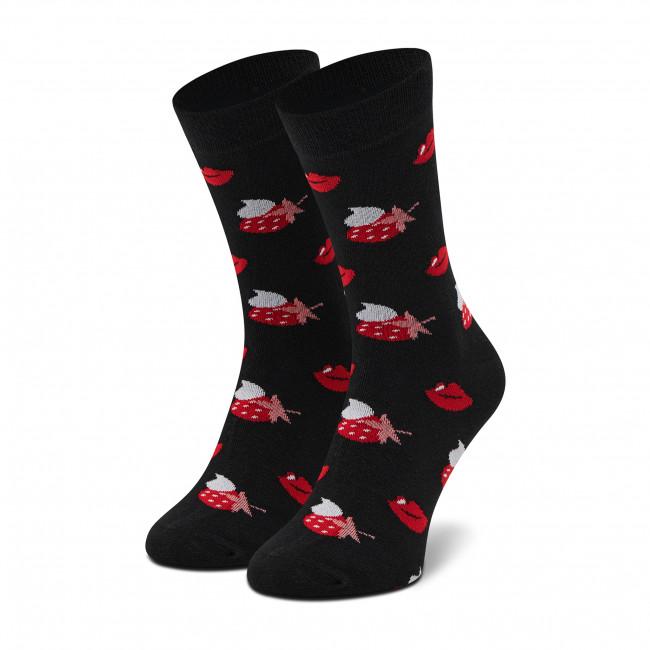 Ponožky Vysoké Unisex DOTS SOCKS - DTS-SX-493-C Čierna