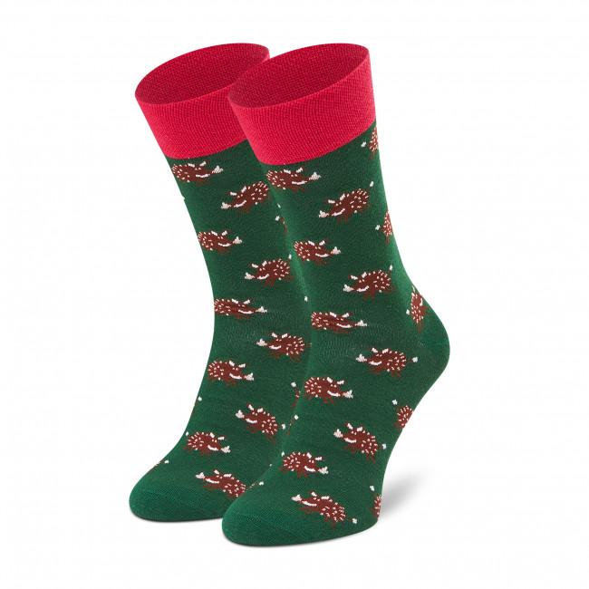 Ponožky Vysoké Pánske DOTS SOCKS - D20WF-SX-045-X Zelená