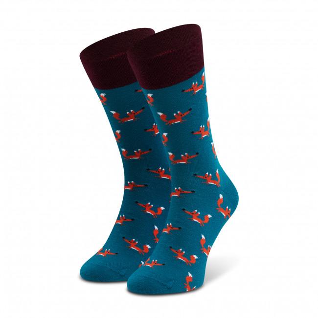 Ponožky Vysoké Pánske DOTS SOCKS - D20WF-SX-046-X-041046 Zelená