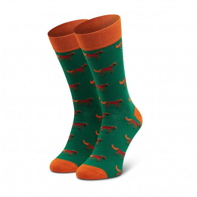 Ponožky Vysoké Pánske DOTS SOCKS - D20WF-SX-048-X-041046 Zelená