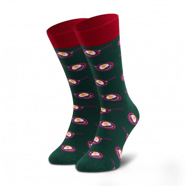 Ponožky Vysoké Pánske DOTS SOCKS - D20WF-SX-012-X-041046 Zelená