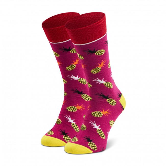 Ponožky Vysoké Pánske DOTS SOCKS - D20WF-SX-024-X-041046 Fialová