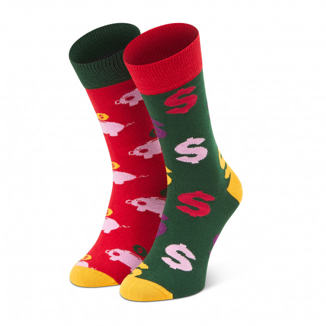 Ponožky Vysoké Pánske DOTS SOCKS - D20WF-SX-019-X Farebná