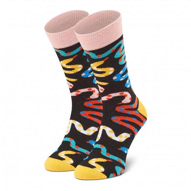Ponožky Vysoké Pánske DOTS SOCKS - D20WF-SX-013-X Čierna