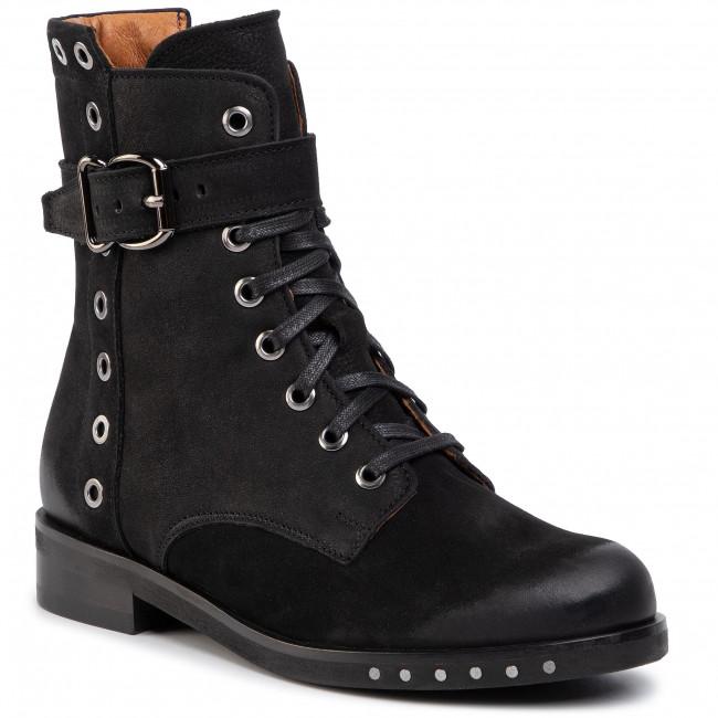 Členková obuv GINO ROSSI - 7586-01 Black