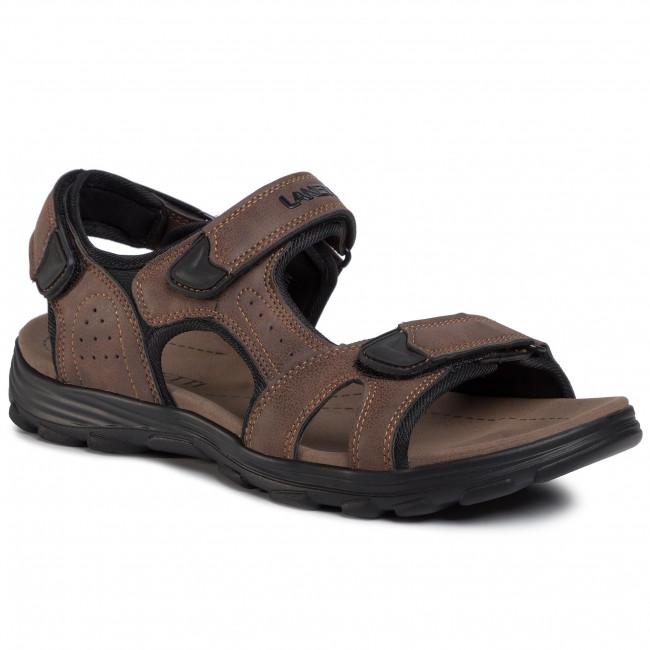 Sandále LANETTI - MS17011-1 Brown 1