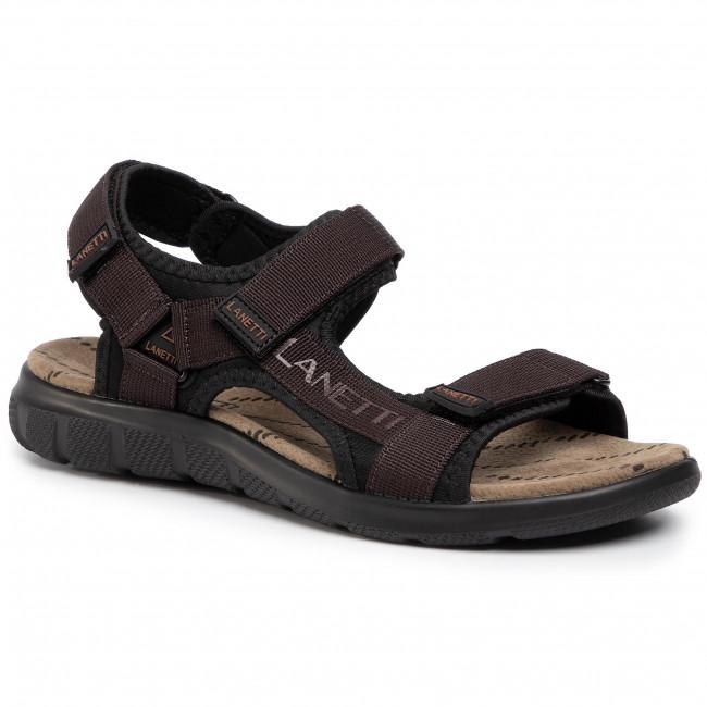 Sandále LANETTI - MS19475-16 Brown 1