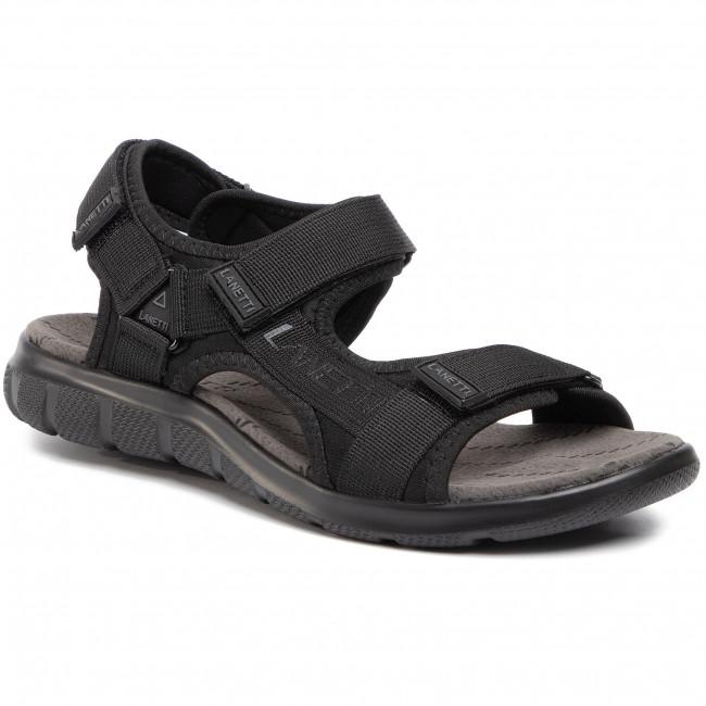 Sandále LANETTI - MS19475-16 Black 1