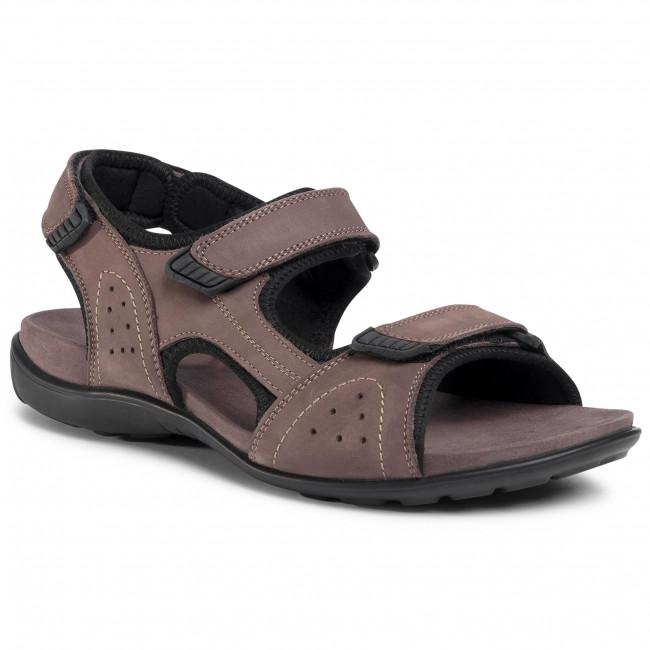 Sandále LASOCKI FOR MEN - MI07-A714-A619-07 Grey