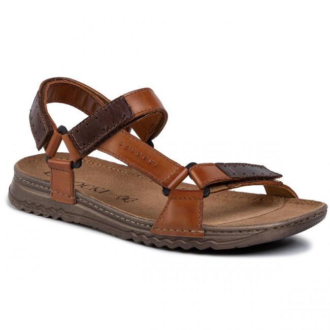 Sandále LASOCKI FOR MEN - MI07-A612-A472-17 Brown 4