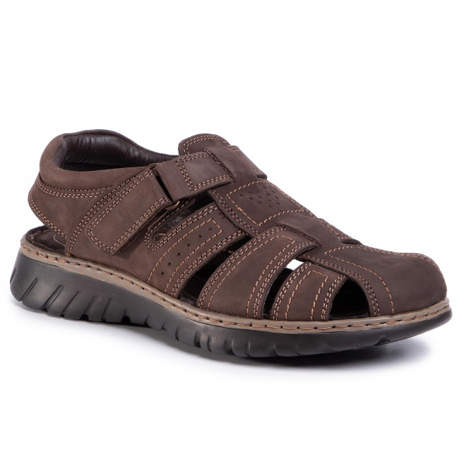 Sandále LASOCKI FOR MEN - 1623  Dark Brown