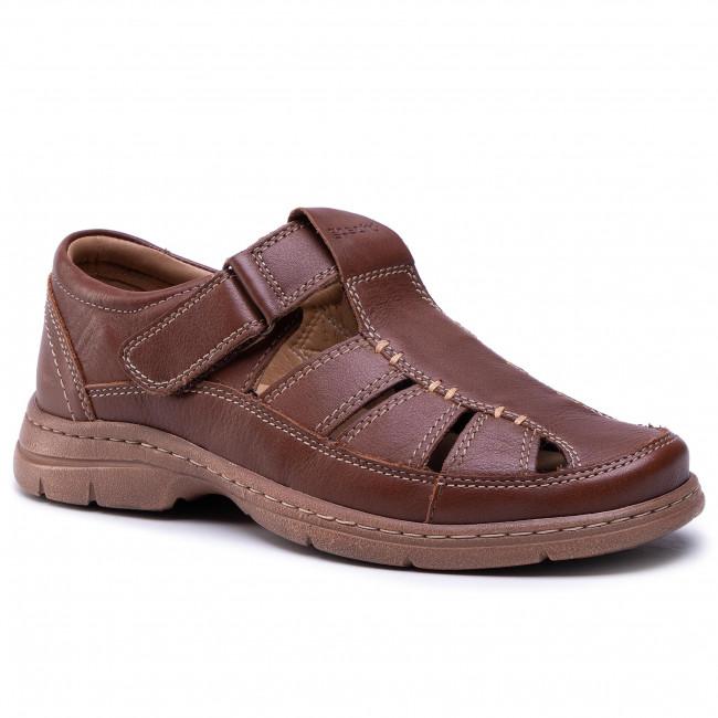 Sandále GO SOFT - MI20-BONDY-02 Dark Brown