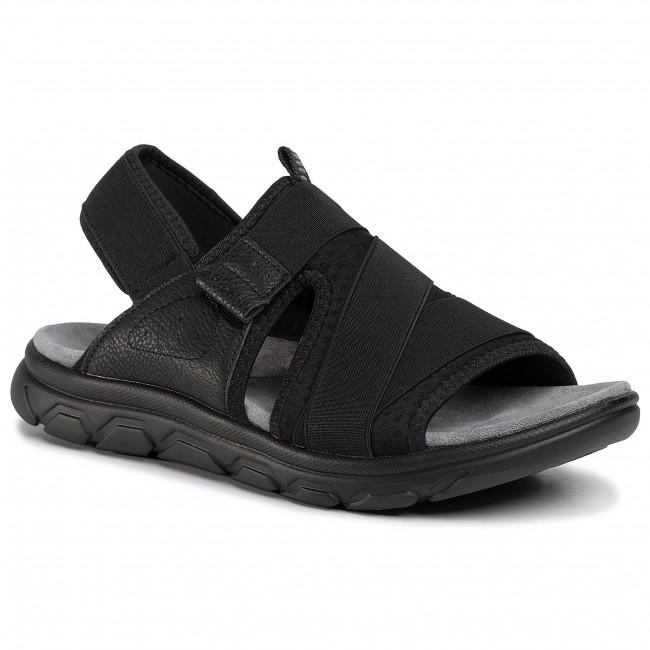 Sandále LANETTI - MSS20115-01 Black