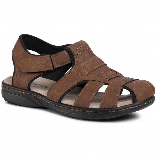 Sandále LANETTI - MSS20116-06 Brown
