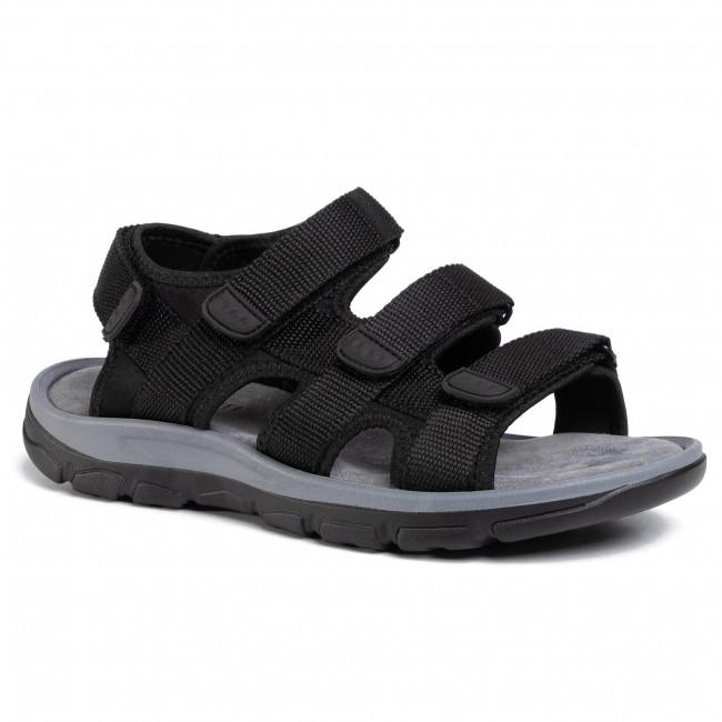 Sandále LANETTI - MSS20117-02 Black