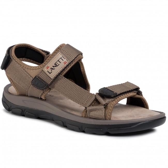 Sandále LANETTI - MSS20117-03 Beige