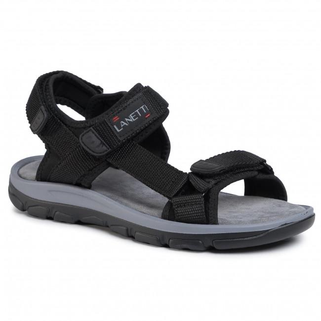 Sandále LANETTI - MSS20117-03 Black