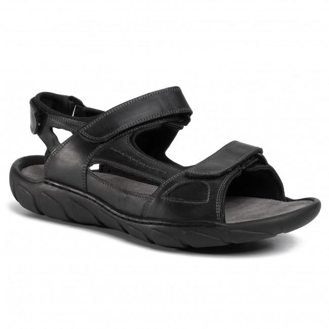 Sandále LASOCKI FOR MEN - MI08-C271-726-31 Black