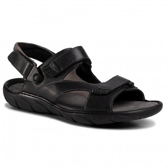 Sandále LASOCKI FOR MEN - MI08-C271-726-33 Black