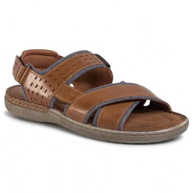 Sandále LASOCKI FOR MEN - Mb-Marvin-20 Brown