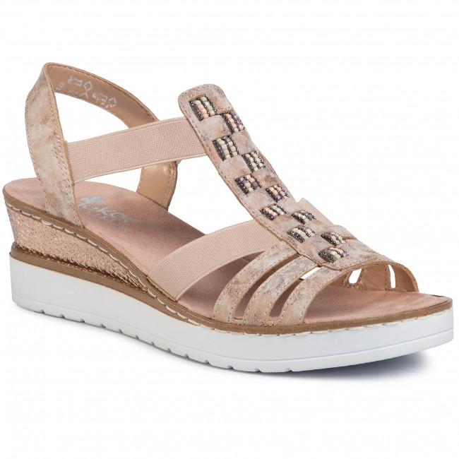 Sandále RIEKER - V3822-31A Rosa