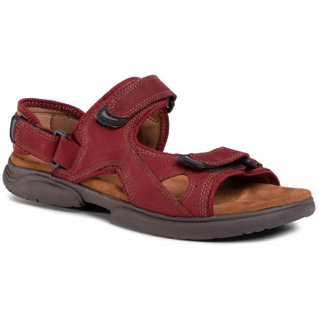 Sandále LASOCKI FOR MEN - MB-A452-15  Maroon
