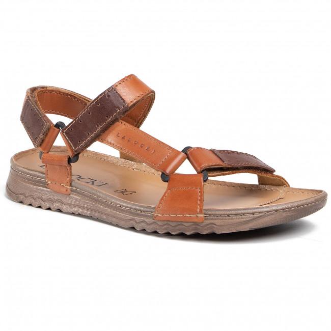 Sandále LASOCKI FOR MEN - MI07-A612-A472-17ME Brown