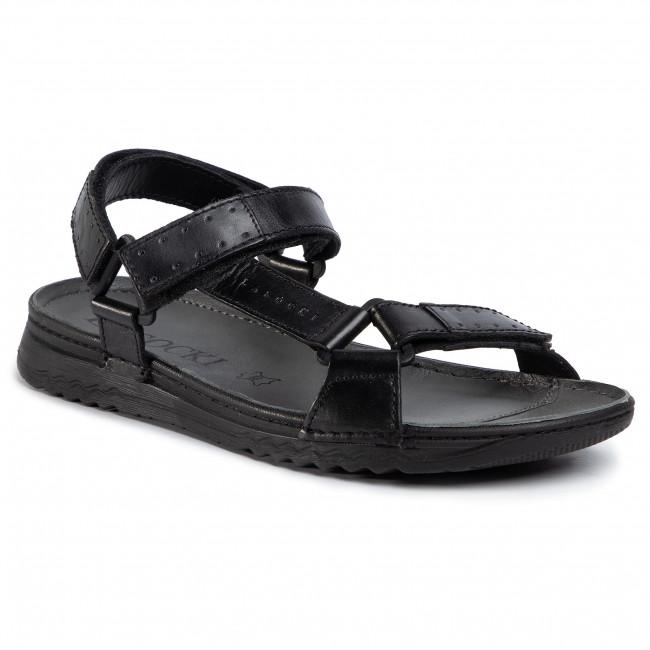 Sandále LASOCKI FOR MEN - MI07-A612-A472-17ME Black