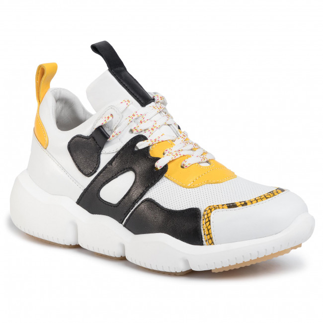 Sneakersy GINO ROSSI - 33312-76 Yellow