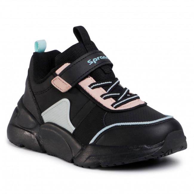 Sneakersy SPRANDI - CP40-9214Y Black