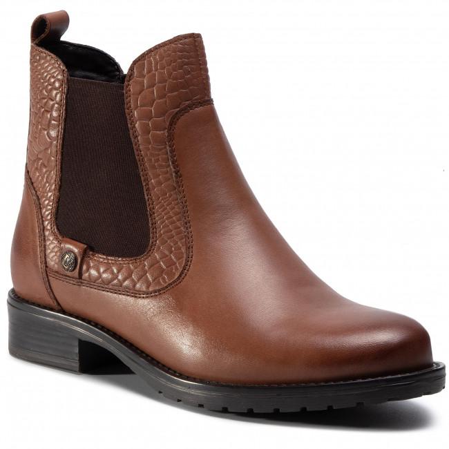 Kotníková obuv s elastickým prvkom LASOCKI - WI16-CORA-07 Brown 1