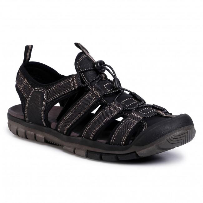 Sandále LANETTI - MBS-ULM-01 Black