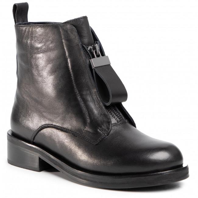 Členkové čižmy GINO ROSSI - 01-41 Black