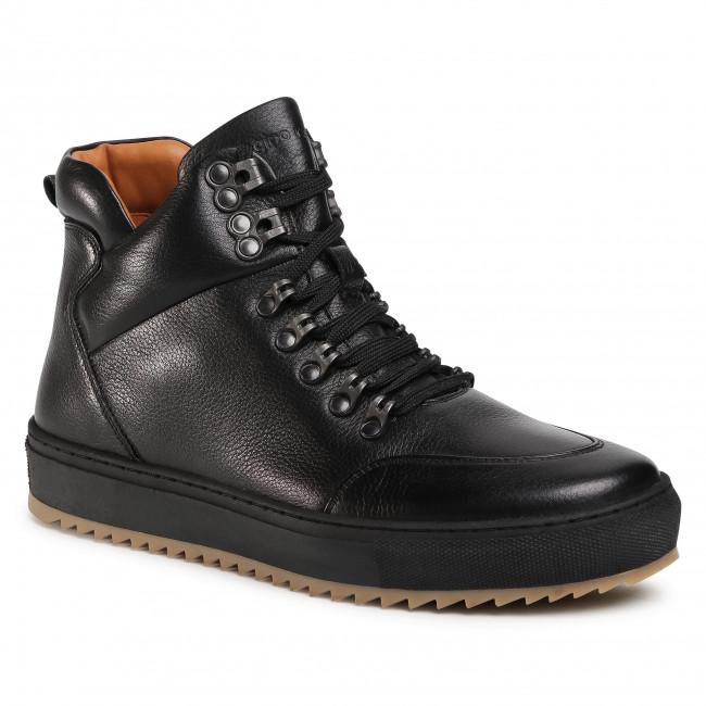 Členková obuv GINO ROSSI - MI08-C798-800-03 Black