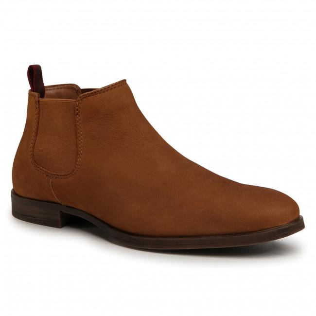 Kotníková obuv s elastickým prvkom LASOCKI FOR MEN - MB-JEREMY-38 Camel