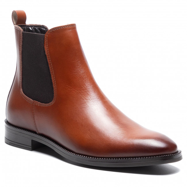 Kotníková obuv s elastickým prvkom GINO ROSSI - I020-30090VRB Camel