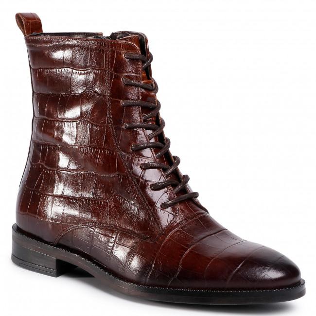 Členková obuv GINO ROSSI - I020-30124DUL Brown