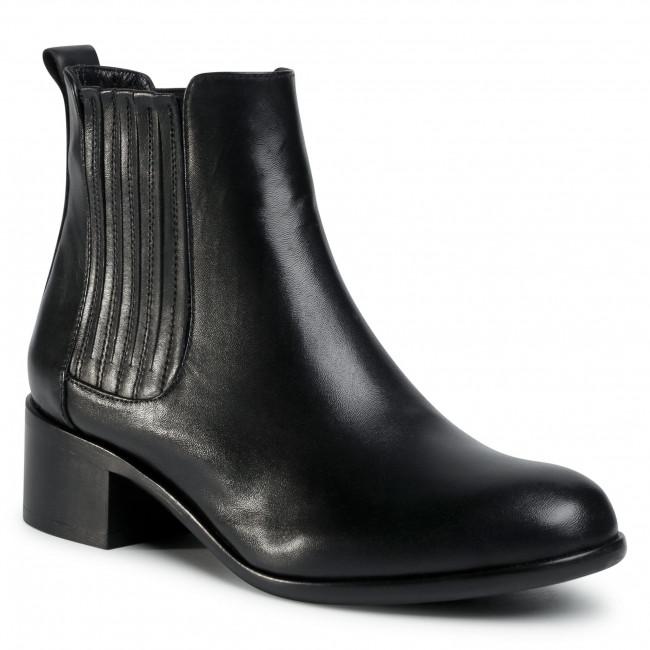 Kotníková obuv s elastickým prvkom GINO ROSSI - 451 Black