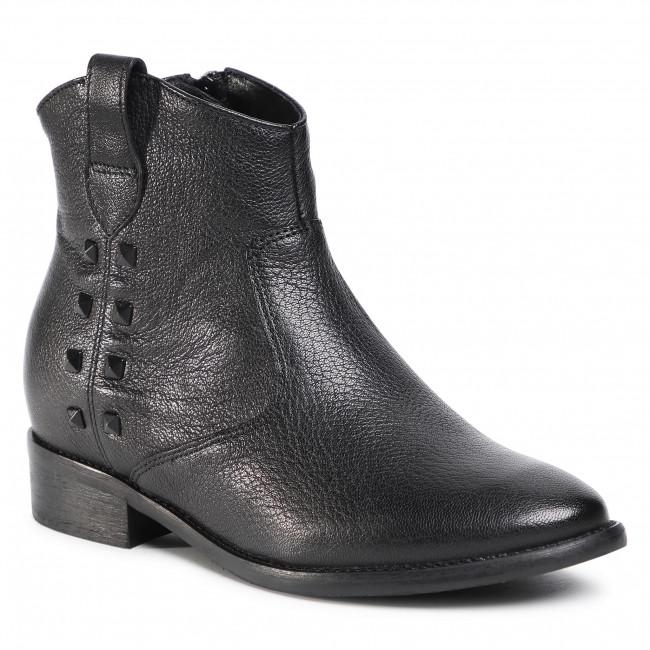 Členkové čižmy GINO ROSSI - 4572-02 Black