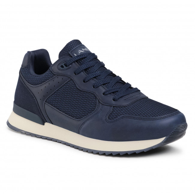 Sneakersy LANETTI - MP07-01433-02 Cobalt Blue