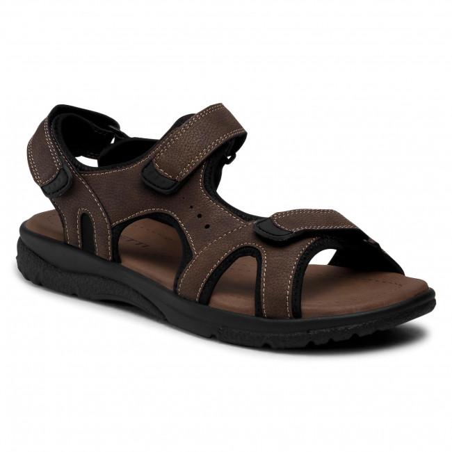 Sandále LANETTI - MSS20083-10 Brown