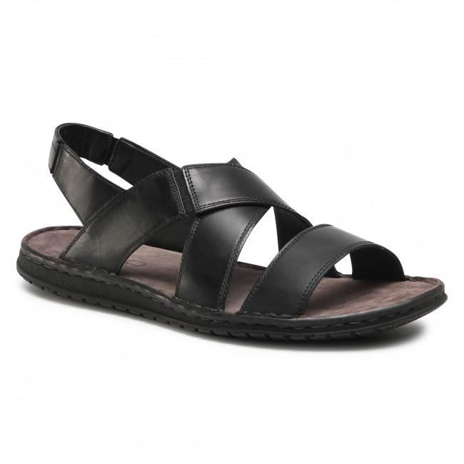 Sandále LASOCKI FOR MEN - MI08-C271-831-54 Black