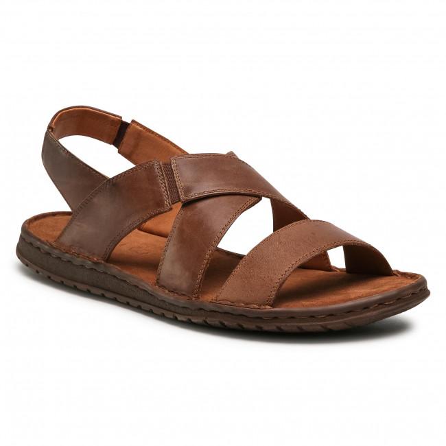 Sandále LASOCKI FOR MEN - MI08-C271-831-54 Brown