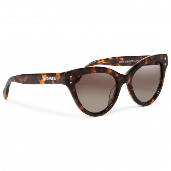 Slnečné okuliare GINO ROSSI - O3WA-003-AW20 Brown