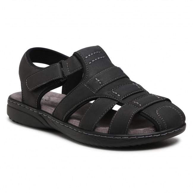 Sandále LANETTI - MSS20116-08A Black