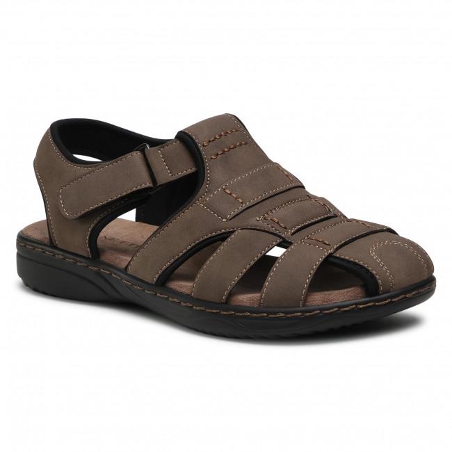 Sandále LANETTI - MSS20116-08B Khaki