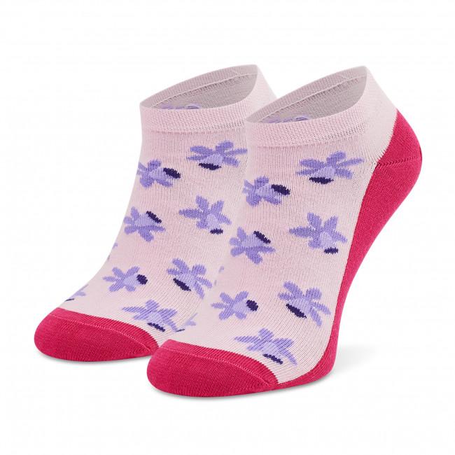 Ponožky Kotníkové Detské FREAKERS - JSKWI-PIN Ružová