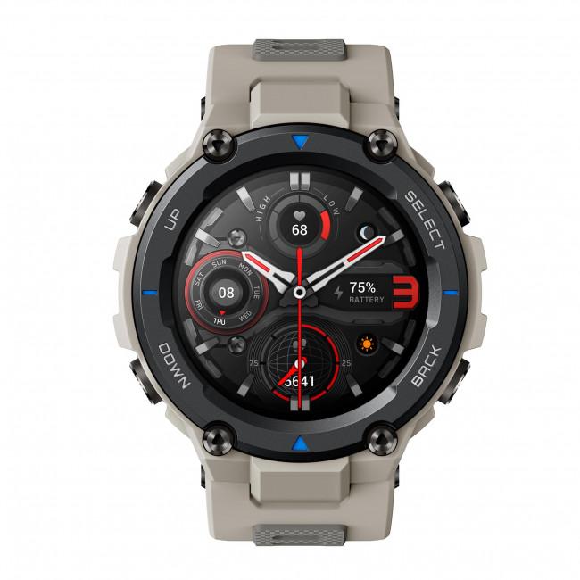 Smart hodinky AMAZFIT - T-Rex Pro A2013 Desert Grey